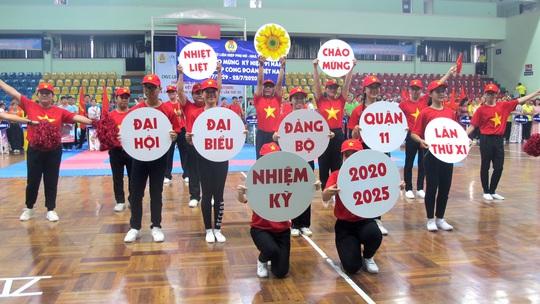 Tưng bừng Hội thao CNVC-LĐ Quận 11 - Ảnh 2.