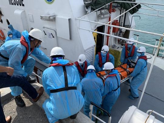 Khánh Hòa: Cứu nạn thuyền viên Ukraine - Ảnh 1.