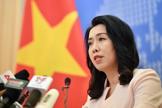 Việt Nam giao thiệp, phản đối Trung Quốc tập trận ở Hoàng Sa - Ảnh 1.