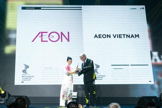"""Aeon Việt Nam hai năm liên tiếp đạt giải """"Nơi làm việc tốt nhất châu Á"""" - Ảnh 1."""