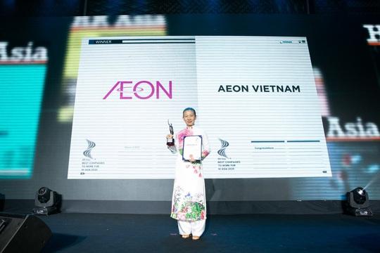 """Aeon Việt Nam hai năm liên tiếp đạt giải """"Nơi làm việc tốt nhất châu Á"""" - Ảnh 2."""