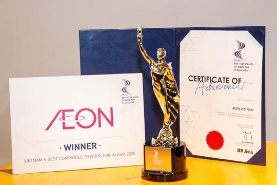 """Aeon Việt Nam hai năm liên tiếp đạt giải """"Nơi làm việc tốt nhất châu Á"""" - Ảnh 4."""