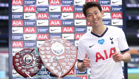 """Ngôi sao Hàn Quốc Son Heung-min """"ẵm"""" trọn giải thưởng của Tottenham. - Ảnh 1."""