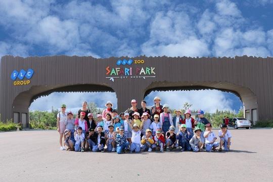 Ghé FLC Zoo Safari xem hổ săn mồi, chơi cùng voi và chuột túi Wallaby - Ảnh 1.