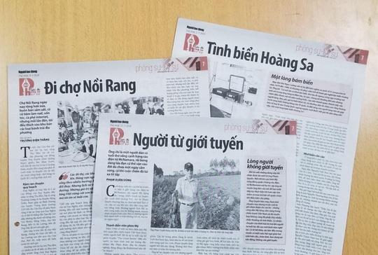 Chiều nay, Báo Người Lao động trao giải cuộc thi viết phóng sự - ký sự và ảnh Nét đẹp lao động - Ảnh 1.