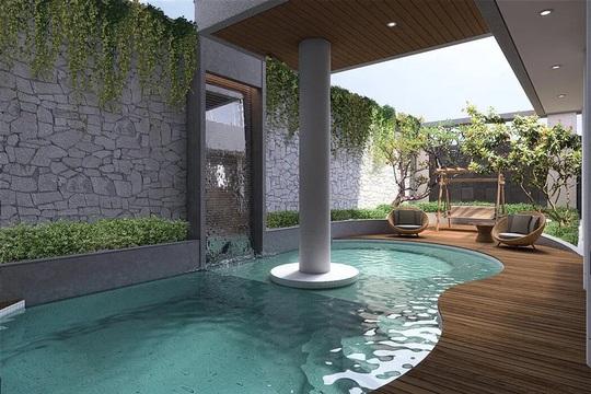 Ngôi nhà sở hữu hồ bơi ngoài trời tiện nghi - Ảnh 1.