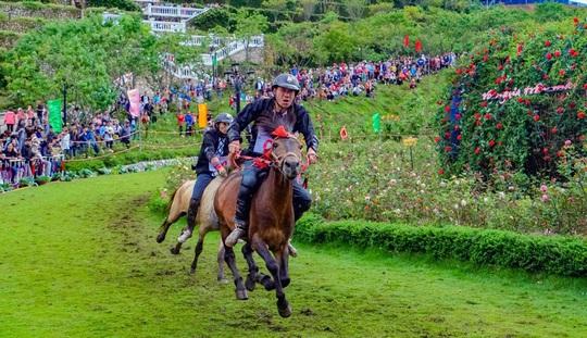 """Sa Pa: Du khách phấn khích với giải đua """"Vó ngựa trên mây"""" - Ảnh 4."""