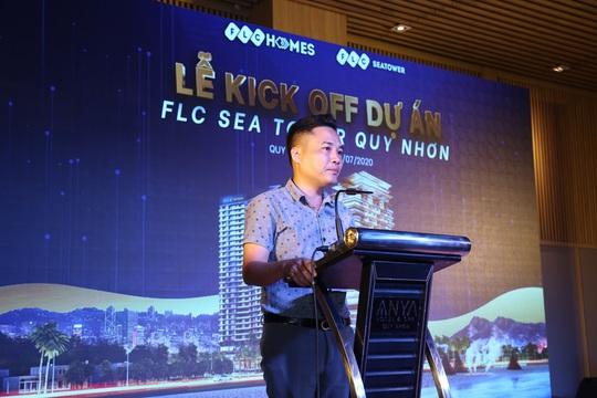 Gấp rút hoàn thiện, FLC Sea Tower Quy Nhon hút hàng trăm sale trong lễ kick off - Ảnh 2.