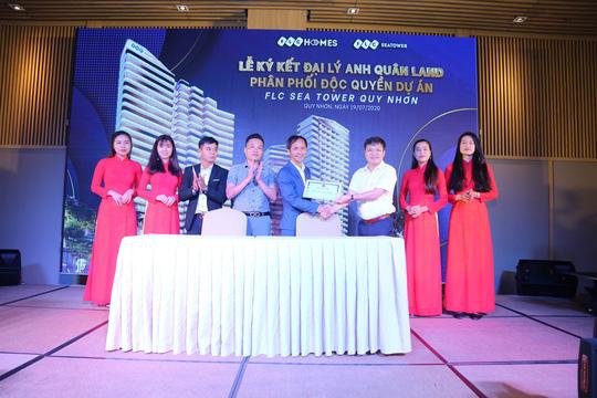 Gấp rút hoàn thiện, FLC Sea Tower Quy Nhon hút hàng trăm sale trong lễ kick off - Ảnh 3.