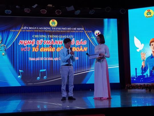 Nghệ sĩ Thành phố mang tên Bác hát về tổ chức Công đoàn - Ảnh 2.