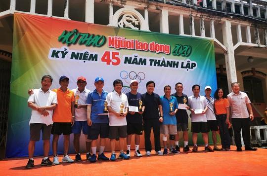 Rộn ràng Hội thao kỷ niệm 45 năm thành lập báo Người Lao Động - Ảnh 6.
