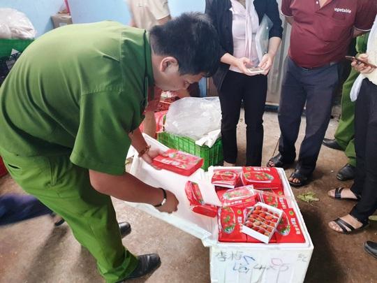 Kinh hoàng dâu tây Trung Quốc tuồn về Đà Lạt có dư lượng thuốc trừ sâu gấp 3 lần cho phép - Ảnh 4.