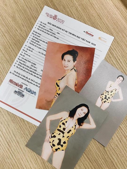 U60 vẫn nộp hồ sơ thi Hoa hậu Việt Nam 2020 - Ảnh 1.
