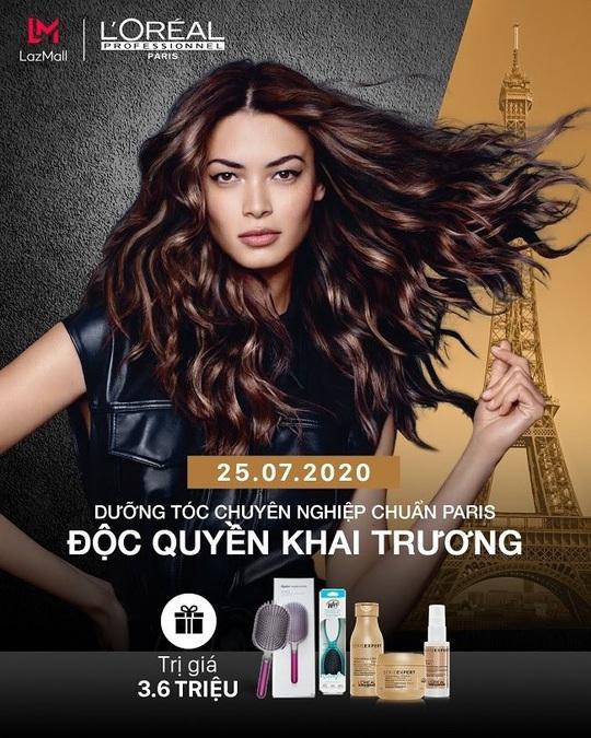 L'Oréal Professionnel ra mắt gian hàng chính hãng trên LazMall với hàng ngàn quà tặng - Ảnh 4.