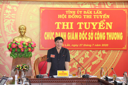 Thi tuyển chức danh Giám đốc Sở Công thương Đắk Lắk - Ảnh 3.