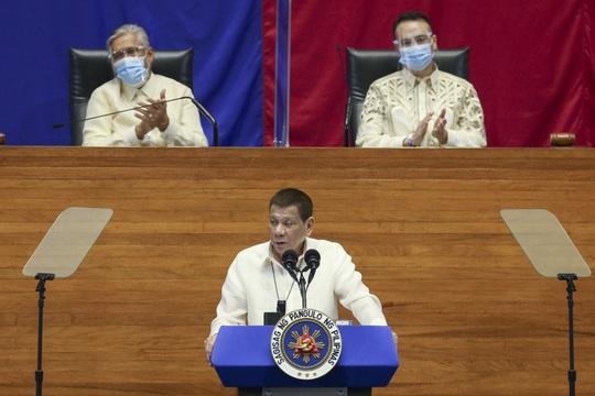 Tổng thống Duterte hỏi mua vắc-xin Covid-19 của Trung Quốc - Ảnh 1.