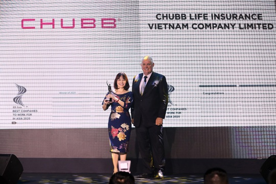 Chubb Life Việt Nam được bình chọn là một trong những nơi làm việc tốt nhất châu Á năm 2020 - Ảnh 1.