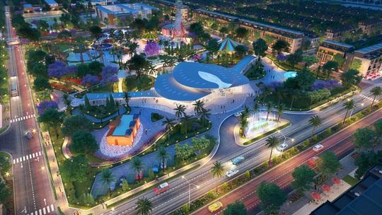 """Gem Sky World - biểu tượng kiến trúc mới của """"thành phố sân bay"""" - Ảnh 3."""