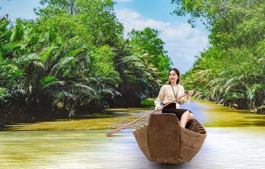 Triển lãm Saigontourist Group - Dấu ấn 45 năm tại phố đi bộ Nguyễn Huệ - Ảnh 4.