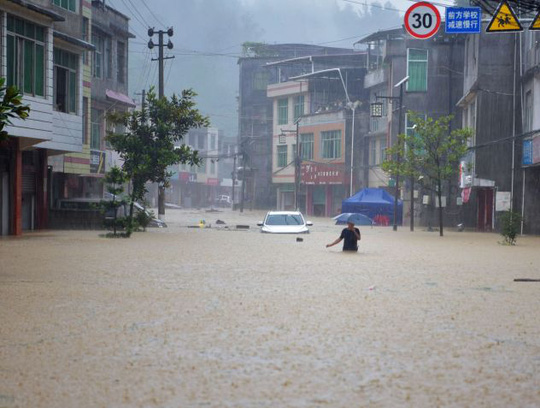 Lũ lên cao, Trung Quốc gồng mình hứng thêm đợt mưa lớn mới - Ảnh 3.