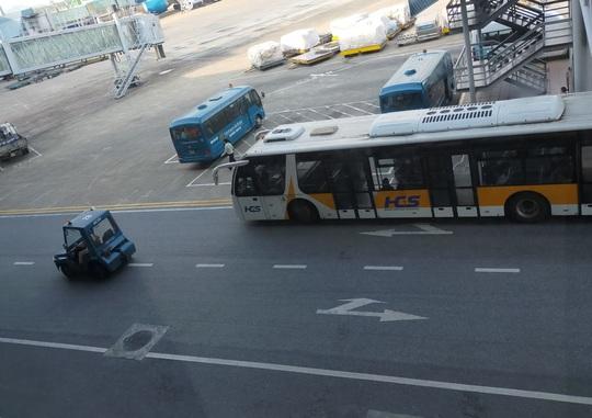 Xe bán tải tông chết người trong sân bay Nội Bài - Ảnh 2.