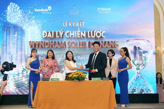 Lễ ký kết Đại lý chiến lược Wyndham Soleil Danang - Ảnh 2.