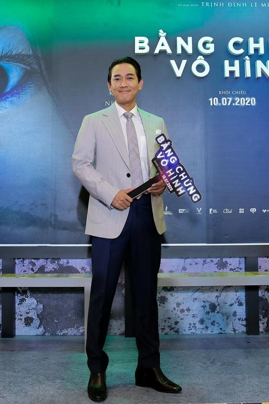 Sao Việt hội tụ thảm đỏ ra mắt phim Bằng chứng vô hình - Ảnh 3.