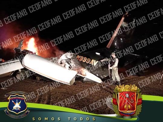 Venezuela tuyên bố bắn rơi máy bay mang số hiệu Mỹ - Ảnh 1.