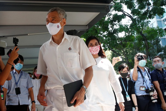 Singapore bước vào tổng tuyển cử - Ảnh 1.