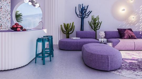 Villa Ibiza: Hành tinh màu tím - Ảnh 1.