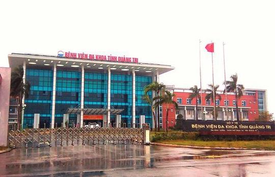 Bệnh viện Đa khoa Quảng Trị tạm dừng tiếp nhận bệnh nhân đến khám bệnh - Ảnh 1.