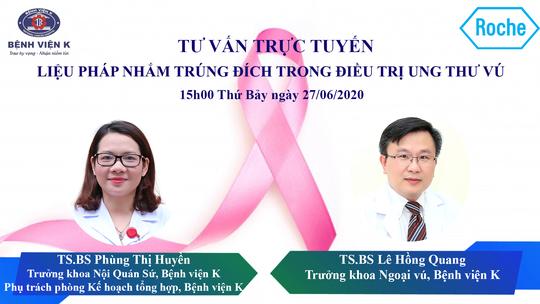 Bệnh viện K tư vấn trực tuyến điều trị ung thư với sự đồng hành của Roche Việt Nam - Ảnh 2.