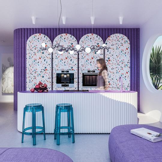 Villa Ibiza: Hành tinh màu tím - Ảnh 2.