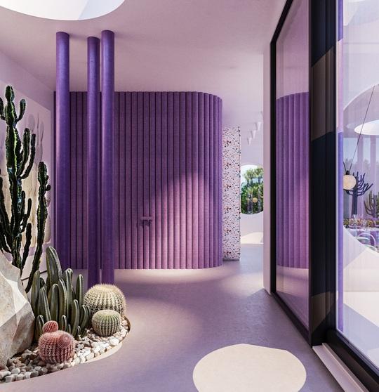 Villa Ibiza: Hành tinh màu tím - Ảnh 4.