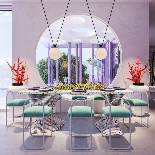 Villa Ibiza: Hành tinh màu tím - Ảnh 8.