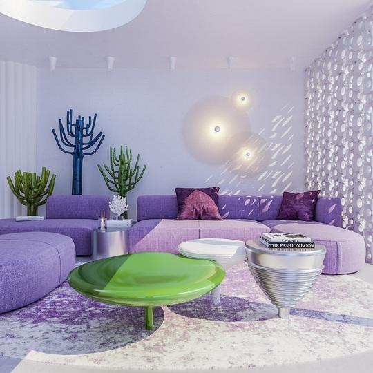 Villa Ibiza: Hành tinh màu tím - Ảnh 9.
