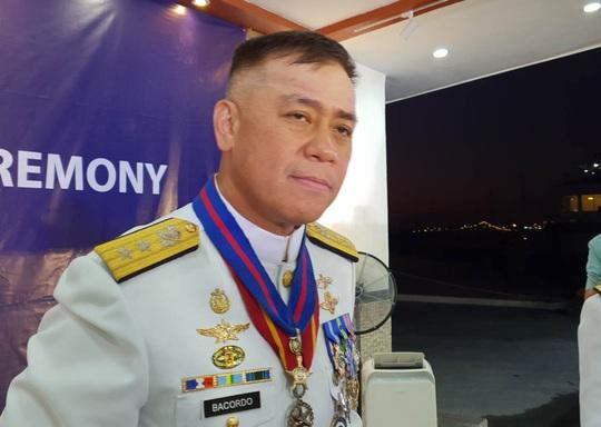 Tư lệnh Hải quân Philippines vạch trần thủ đoạn của Trung Quốc trên biển Đông - Ảnh 1.