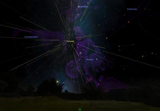Đêm nay, đón siêu mưa sao băng từ nam thần của bầu trời - Ảnh 3.