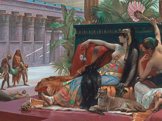 Nước hoa của Nữ hoàng Cleopatra - Ảnh 2.