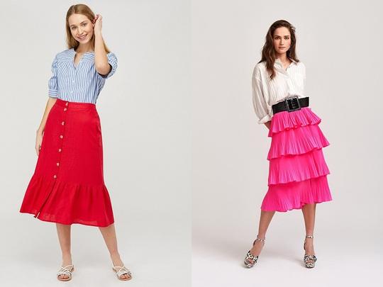 Muôn kiểu chân váy được ưa chuộng nhất mùa hè - Ảnh 1.