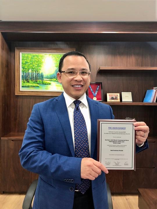 The Asian Banker vinh danh thẻ tín dụng quốc tế S-Care của SCB - Ảnh 1.
