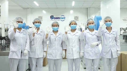 Doanh nghiệp bán khẩu trang y tế Ecom Net bình ổn thị trường - Ảnh 1.