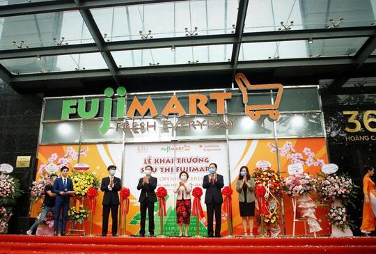 Khai trương siêu thị FujiMart thứ hai tại Hà Nội - Ảnh 1.