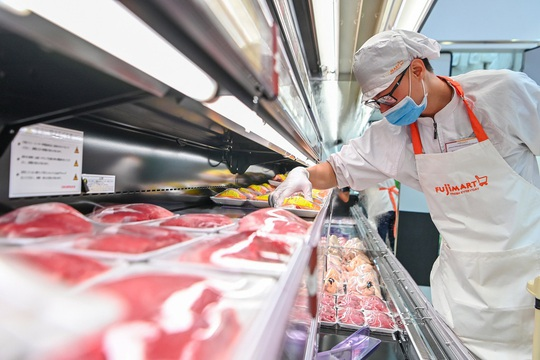 Bên trong siêu thị kiểu Nhật thứ 2 của FujiMart tại Hà Nội - Ảnh 3.
