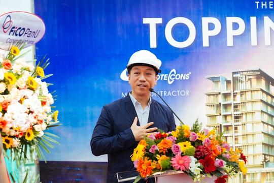 SonKim Land tổ chức lễ cất nóc dự án The Galleria Residence - Ảnh 3.
