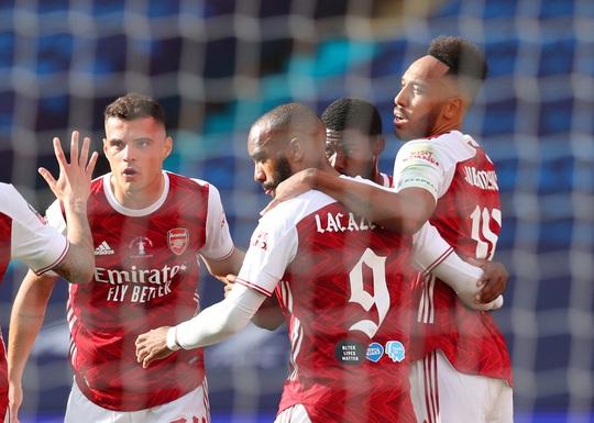 Người hùng Aubameyang rực sáng, Arsenal lên ngôi vô địch FA Cup - Ảnh 5.