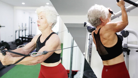 Choáng với bà ngoại cơ bắp - người mẫu thể hình tuổi 74 - Ảnh 4.