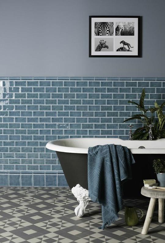 Cách chọn gạch lát cho phòng tắm - Ảnh 3.