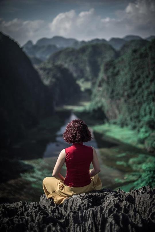 Vườn xương rồng, thác nước tuyệt đẹp dưới chân Hang Múa hút giới trẻ - Ảnh 4.