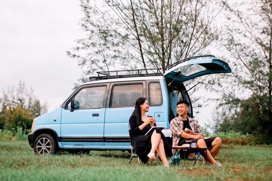 Gia đình vi vu khắp Việt Nam bằng ôtô tự cải tạo - Ảnh 5.